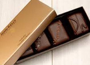 John Kelly Chocolate Walnut 4pk