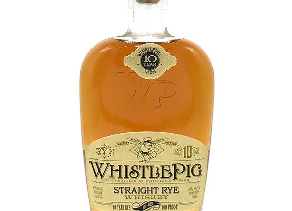 Whistle Pig Straight Rye 10 Year