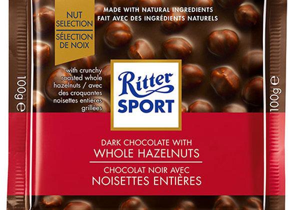 Ritter Sport Dark Chocolate Hazelnut