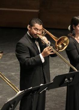 Chris Reaves, trombone