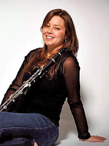 Julianne Scott, clarinet