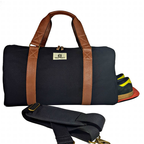 Adam Duffle Bag For Travel Gym Sports With Shoe Compartment