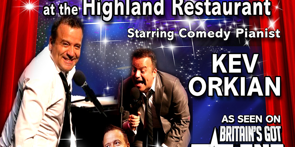 A Secret Night From the Palladium with Starring Comedy Pianist Kev Orkian