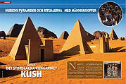ARKEOLOGI: SUDAN Nubiens pyramider, ritualerna med människooffer