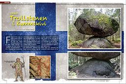 finland, trollsten, kummakivi