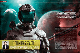 rymden: Elon Musks SpaceX kommer att skapa egna lagar på Mars