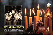 SVENSKA TRADITIONER Luciafirandets historia.