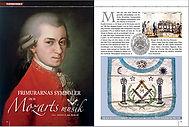 FRIMURARSYMBOLYK  Frimurarnas symboler och Mozarts musik: