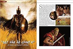 """militär historia: """"Det här är sparta"""". Här föddes den perfekta krigaren"""