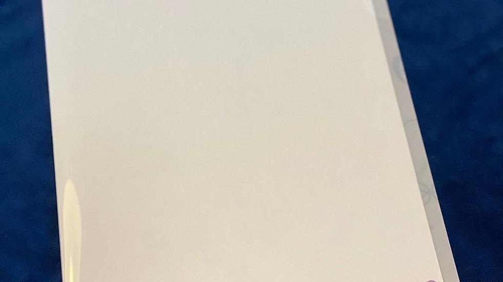 七宝数秘学「オリジナルクリアファイルB」
