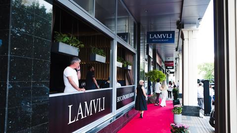 Открытие ресторана LAMVIL. Тех.продакшен.