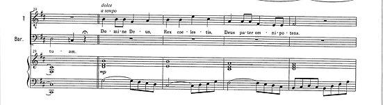 テノールとバリトンのためのミサ曲「ニ長調ミサ」