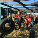 tyre tangle obstacle