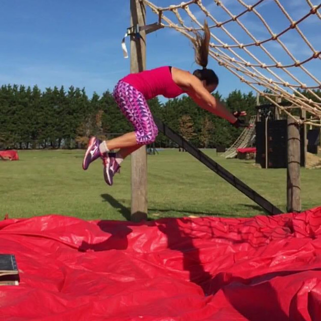 cargo net jump obstacle