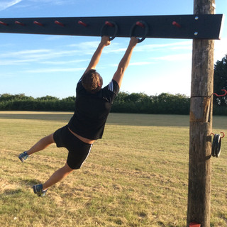 ninja warrior obstacle moveable rings