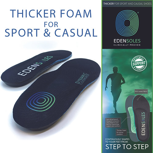 Edensoles Sport / Casual Custom Insoles