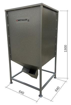Бункер для топливных пеллет 350л