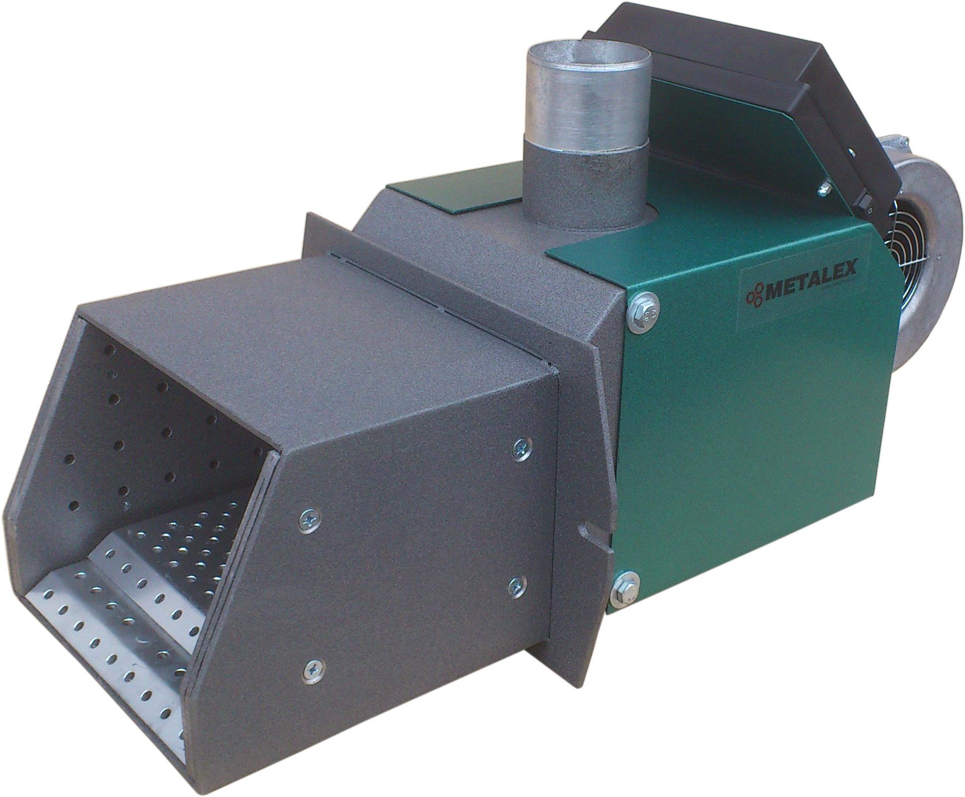 Горелка пеллетная METALEX-50