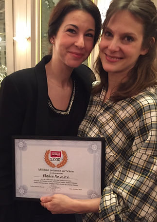 Elodie Navarre Theatre Milliéme Diplome