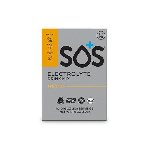 "SOS Elektrolyten poeder ""MANGO"" - 10 porties"