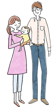 子育て世帯(赤ちゃん)