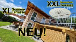 NEU im Alpina Füssen: XXL-Sonnen-Terrasse