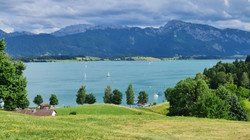 Der Forggensee bei Füssen / Allgäu