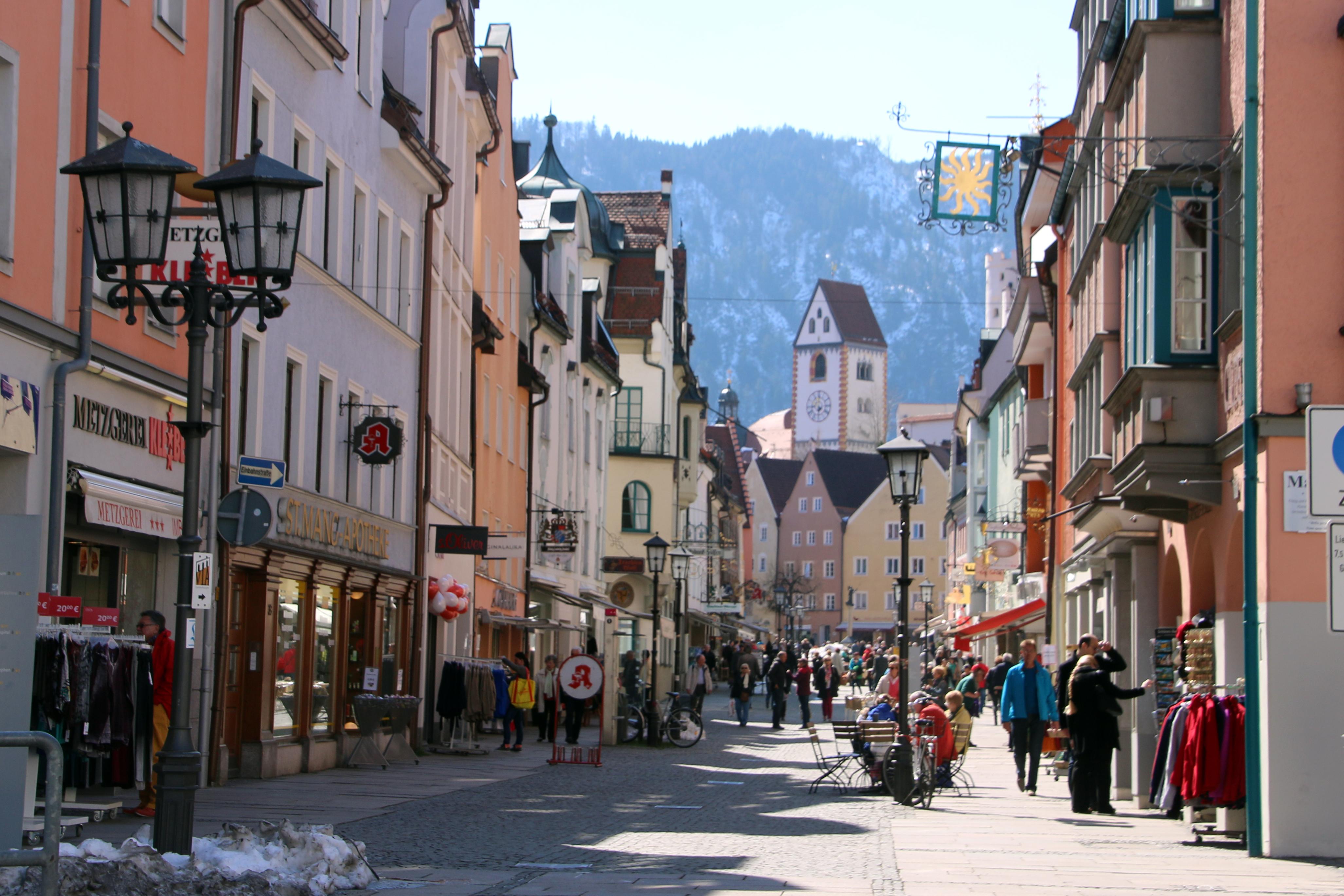 Historische Altstadt zu Füssen