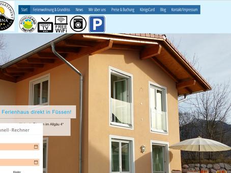Neu auf alpina-fuessen.de: Chat, Fon & E-Mail direkt!