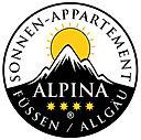 NEU: Alpina Sonnen-Appartements Füssen Allgäu Unterkunft Übernachtung Aparthotel Logo COPYRIGHT VIP MEDIA