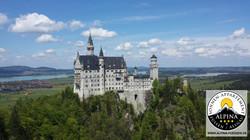 Das weltberühmte Schloss Neuschwanstein