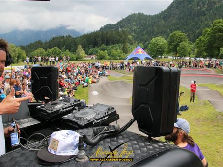 Red Bull PumpTrack Spektakel auf neuem Skate- & Bike-Park in Füssen