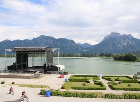 Königswinkel-Open Air-Sommer: Hochkarätige Musiker kommen nach Füssen / Allgäu
