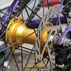 Optisches Tuning darf am BMX und Mountainbike nicht fehlen