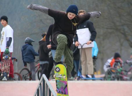 Deutschlands längste Skater-Bahn im neuen Skate- und Bike-Park eröffnet in Füssen