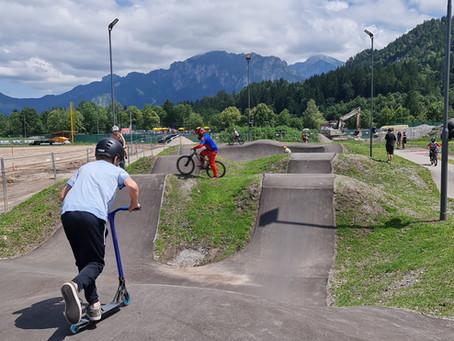Erweiterung: Skate- & Bikepark Füssen / Allgäu jetzt noch vielseitiger!