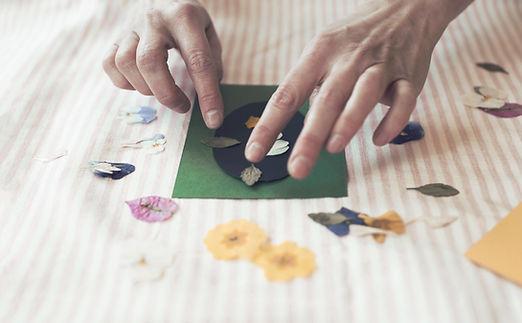 fleurs séchées créations artisanales