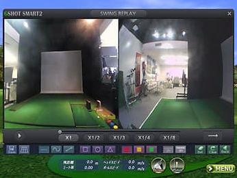 ゴルフランド G-SHOT SMART2 スイングモーションモード