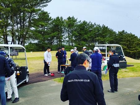 2021年度秋田県ジュニアゴルフ選手権大会の応援に行ってきました!まず一番にお伝えしたいこと。