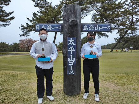 秋田県ジュニアゴルフ選手権大会でジュニアゴルフスクール生が頑張ってくれました!