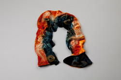 vibrant scarf