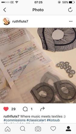 music meets textiles