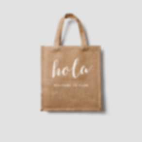 Cabo Personalized Welcome Bag