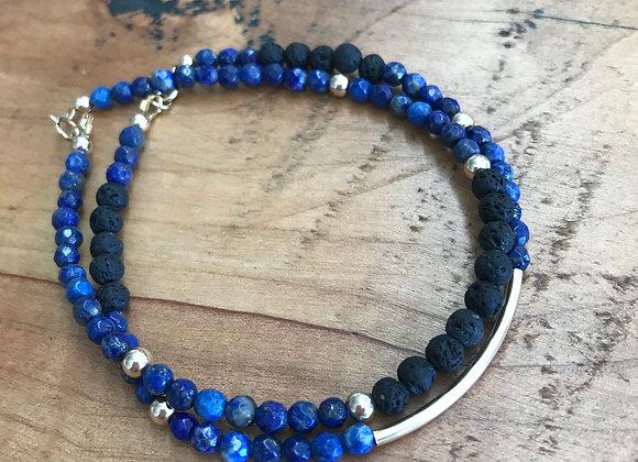 Lapis Lazuli Delicate Bracelet