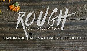 rough cut soap logo