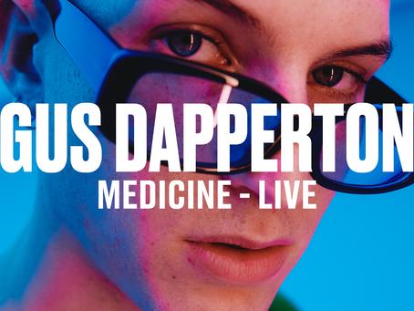 Gus Dapperton Announced Vevo DSCVR Artist + Live Performances