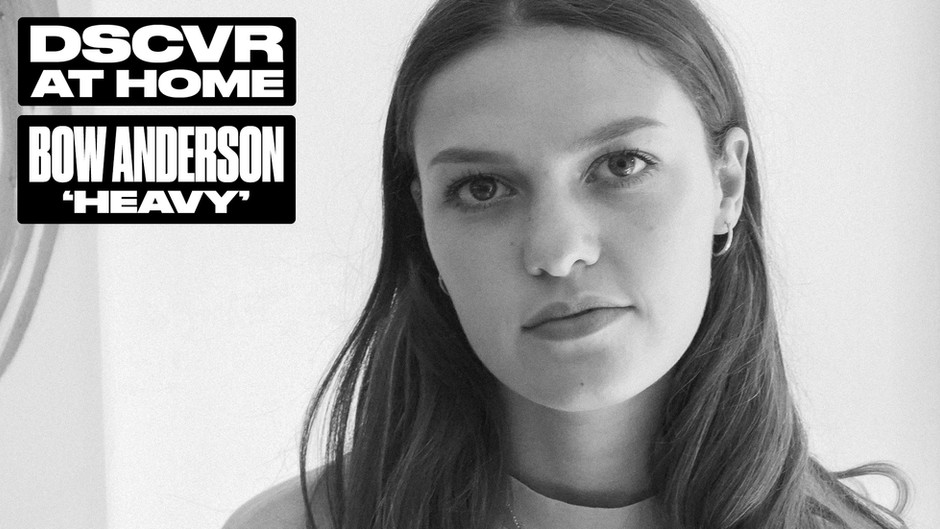 """Bow Anderson x Vevo DSCVR At Home Release Videos for """"Sweater"""" and """"Heavy"""""""
