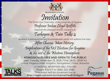 After Obama, More History: Implications of the US Elections for Guyana & the rest of the Western