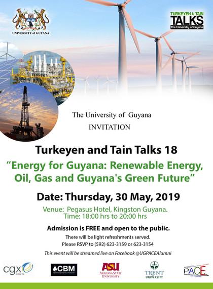 Turkeyen and Tain Talks 18