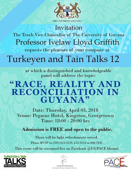 """Turkeyen and Tain  Talks 12 """"Race"""""""